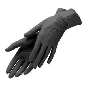 Продам нитриловые перчатки черные Киев. - изображение 1