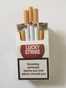 Продам оптом сигареты Lacky Strike. Качество супер! Цена-380$. - изображение 1