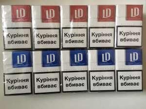 Продам оптом сигареты LD (красный, синий) - изображение 1