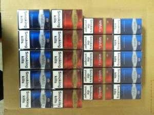 Продам оптом сигареты Marvel (blue, red). Ящик (50 боков-50 0пачек). Цена-200$. Нежный аромат, приятное послевкусие, привлек - изображение 1