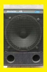 Продам сабвуфер Montarbo 118 А комплект 2 шт, Made in ITALY - изображение 1