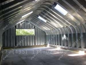 Разборные ангары под производственные помещения - изображение 1