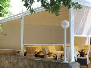 Рефлексоли, внешние, наружные рулонные шторы для беседок - изображение 1