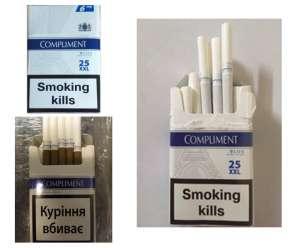 Сигареты оптом Compliment 25 (480 пачек) (Белый, Коричневый) - изображение 1