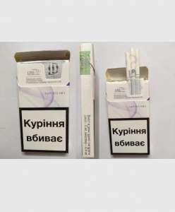 Сигареты LD super slims Violet Украинский акциз оптом - изображение 1