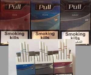 Сигареты Pull (red, blue, grey)- 340.00$ крупным и мелким оптом - изображение 1