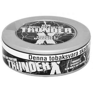 Снюс Тандер, Thunder X slim - изображение 1