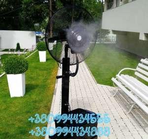 Современные уличные вентиляторы-увлажнители - изображение 1