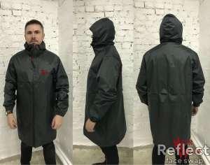 Стильная, непромокаемая куртка-дождевик + чехол в подарок - изображение 1