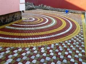 Тротуарная плитка, брусчатка, ФЭМ,всех видов по цене производителя 170 грн/м2 - изображение 1