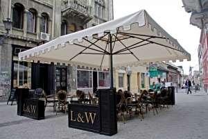Уличные квадратные зонты Scolaro - изображение 1