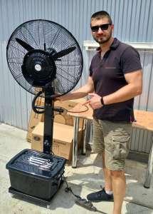 Уличные переносные вентиляторы.Выгодные цены - изображение 1