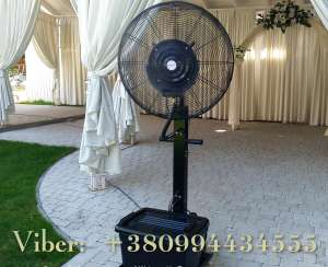 Уличный вентилятор с эффектом увлажнения воздуха - изображение 1