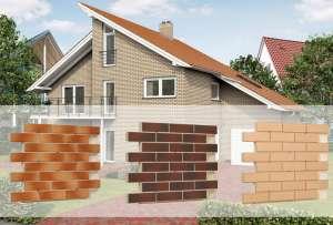 Фасадная термопанель с клинкерной плиткой 580*1150мм - изображение 1