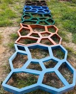 Форма для садовой дорожки Киев Садовая дорожка из бетона в Киеве - изображение 1