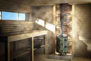 Чугунные дровяные печи в баню от производителя «PROMETALL» Украина. - изображение 1