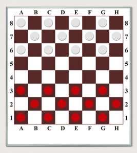 Шахматы настенные, демонстрационная доска «шахматы / шашки», производство Украина. - изображение 1