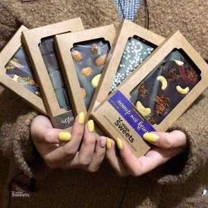 Шоколад ручной работы, полезный, без сахара, веганский Vegan-Sweets - изображение 1