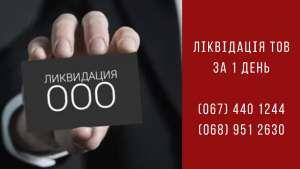 Экспресс-ликвидация ООО в Киеве - изображение 1