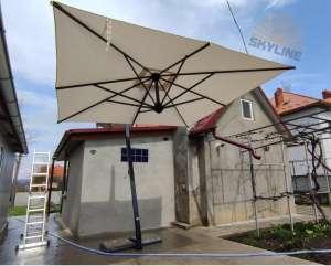 ☑☑ Купить садовый зонт Киев. Зонты консольные для кафе, ресторана, сада, Scolaro - изображение 1